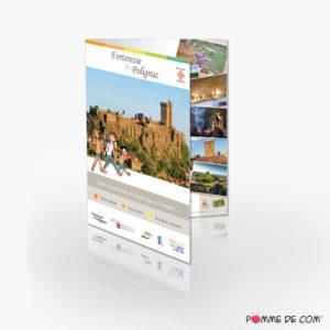 Dépliant touristique Forteresse de Polignac 2019