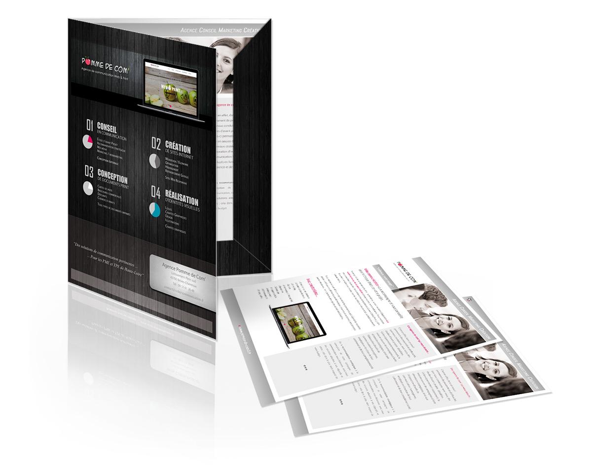 Création de document publicitaires destinés à l'impression, Lisieux, Deauville, Honfleur, Cabourg, Pontl'Évêque, Falaise, Calvados - Normandie