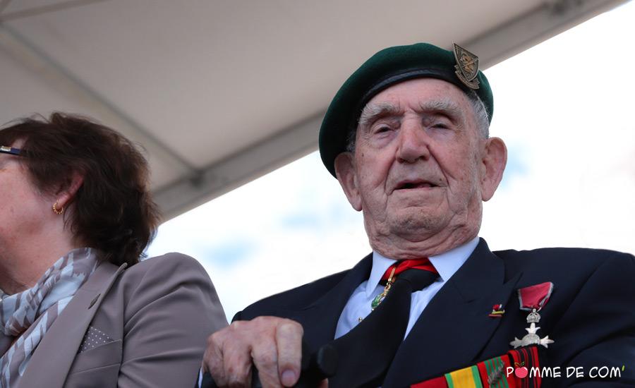 Léon Gautier cérémonie D-Day