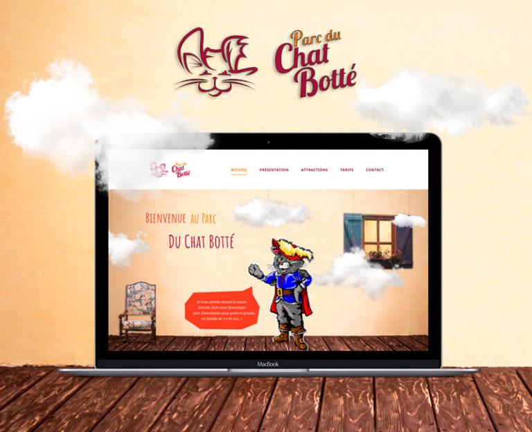 Création site Web le Chat Botté à Pradelles